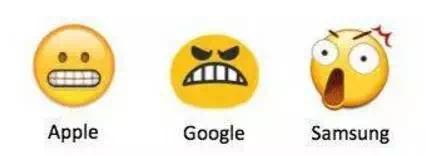 同一个鬼脸,不同的emoji