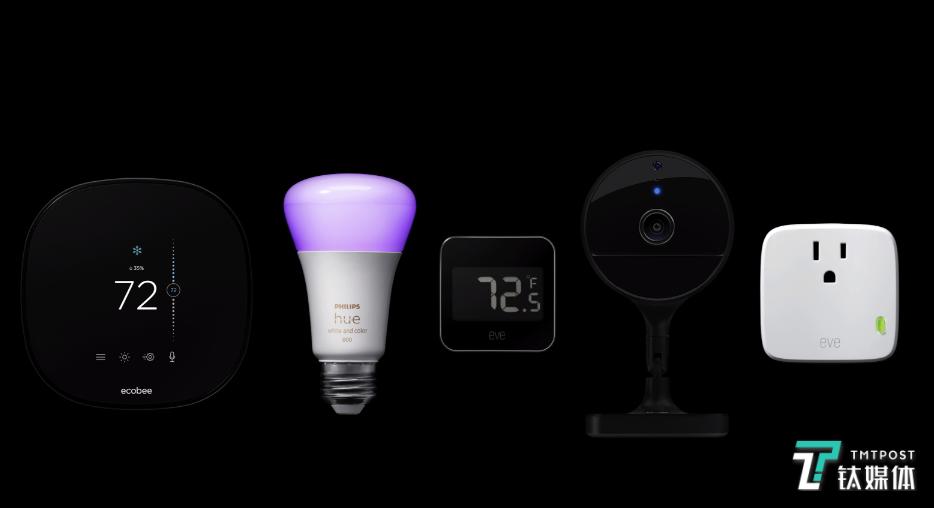可惜国内支持HomeKit的智能家居设备并不多